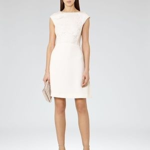 NWT Reiss Talithia Crepe Lace Engagement Dress